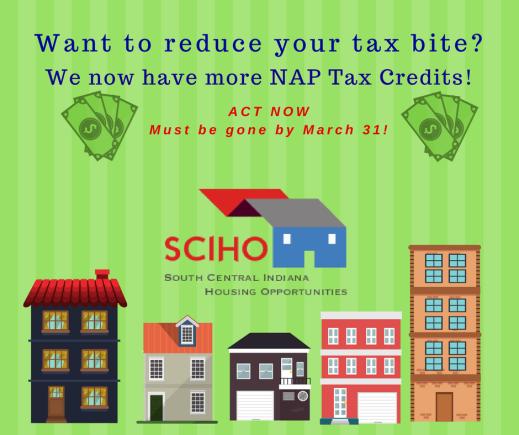 NAP Tax Credits Available